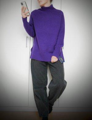 Polo Ralph Lauren Jersey de lana violeta oscuro Lana
