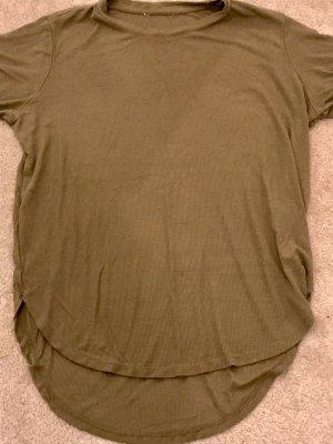 C&A Basics Long Shirt green grey-khaki