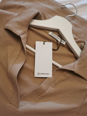 Stradivarius Robe Polo marron clair