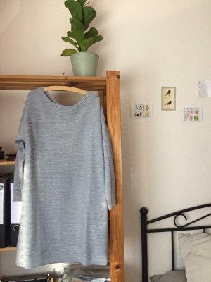 Asos Swetrowa sukienka srebrny-jasnoszary