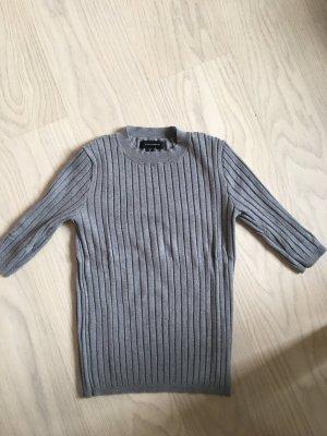 Atmosphere Camisa acanalada gris
