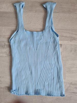 Haut tricotés bleu azur