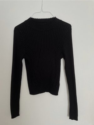 Primark Ribbed Shirt black