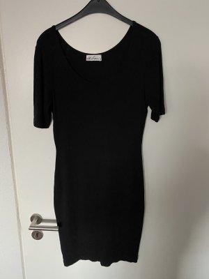 Geripptes TShirt Kleid von dibari Gr.40
