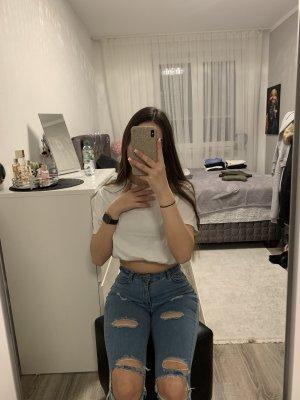 Gerissene high-waist jeans