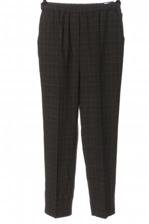 Gerke 7/8 Length Trousers light grey-brown check pattern casual look