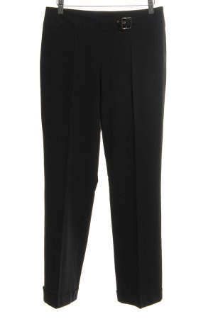 Germano Zama Bundfaltenhose schwarz Business-Look