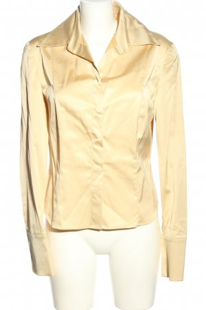 Germano Zama Splendor Blouse gold-colored business style