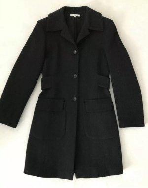 GERMANO ZAMA Mantel, reine Wolle, Anthrazit, Grau, Größe S, 36