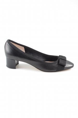 Gero Mary Jane Pumps black leather