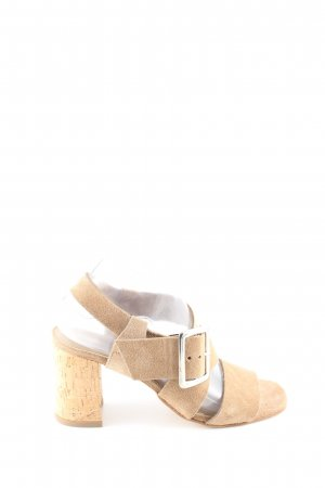 Gero Riemchen-Sandaletten creme Casual-Look
