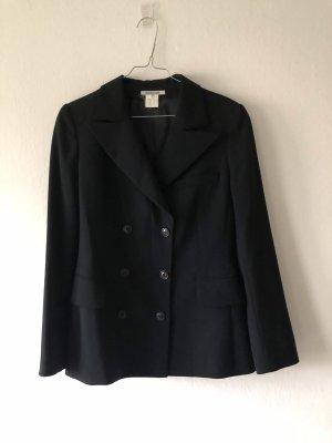 Georges Rech Blazer in lana nero Lana vergine