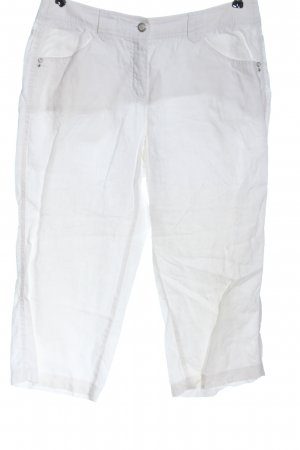 Gerry Weber 3/4 Length Trousers white casual look