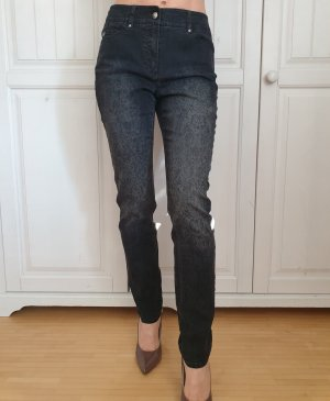 Gerry Weber Drainpipe Trousers black-grey