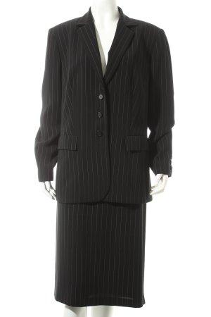 Gerry Weber Anzug schwarz-weiß Business-Look