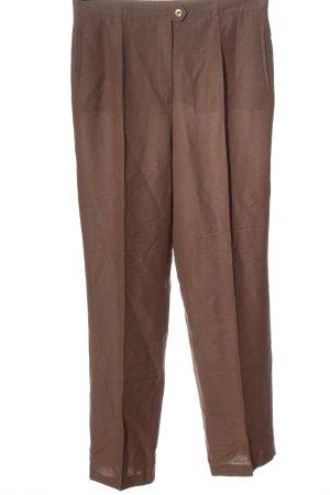 Gerry Weber Pantalón de vestir marrón estilo «business»