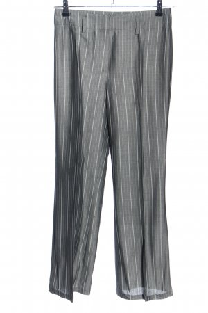 Gerry Weber Suit Trouser light grey-white striped pattern business style
