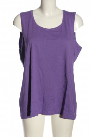 Gerry Weber Basic topje lila casual uitstraling
