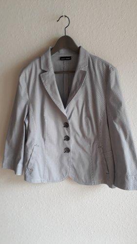 Gerry Weber Short Blazer blue-white cotton