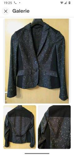 Gerry Weber Tweed blazer zwart-zilver