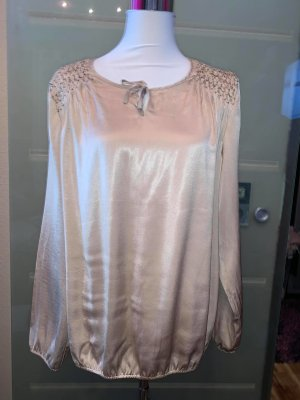 Gerry Weber Glanzende blouse nude