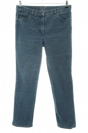 Gerry Weber Boot Cut Jeans blau Casual-Look
