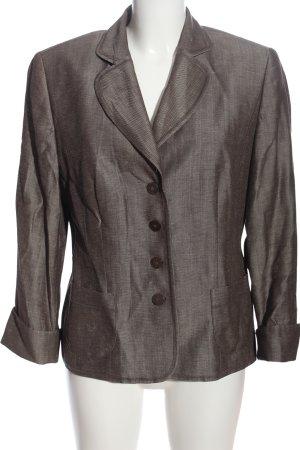 Gerry Weber Blazer Boyfriend gris claro Patrón de tejido look casual