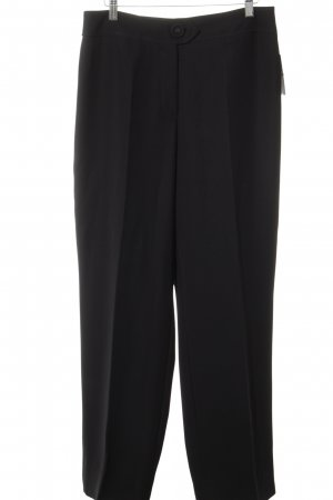 Gerry Weber Bundfaltenhose schwarz Casual-Look