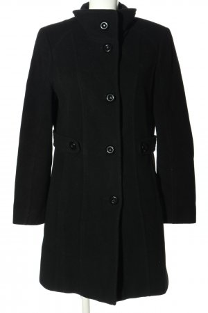 Gerry Weber Heavy Pea Coat black business style