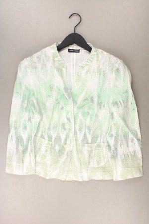 Gerry Weber Cardigan Größe 40 grün aus Leinen