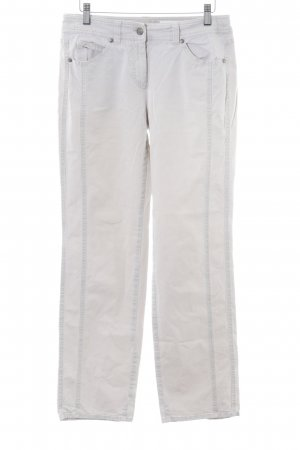 Gerry Weber Chinohose hellbeige Casual-Look