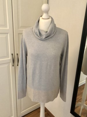 Gerry Weber Collection Pullover Hellgrau Beige 38