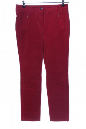 Gerry Weber Corduroy Trousers red casual look