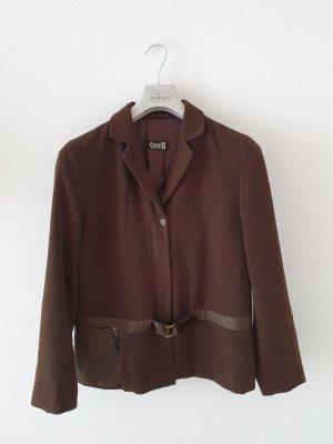 Gerry Weber Blazer de lana marrón oscuro