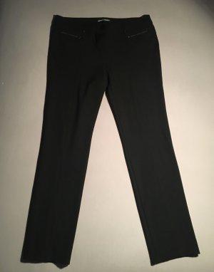 GERRY WEBER - Damenhose - Schwarz - Gr. 44 - Slim Style