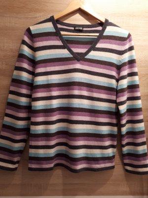 Gerry Weber Edition, V Ausschnitt Pullover, Casual Look, Gr. 38
