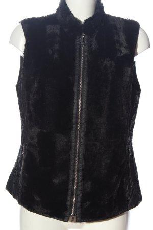 Gerry Weber Fur vest black casual look