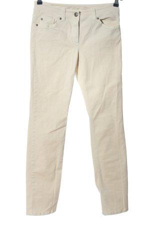 Gerry Weber Pantalón de cinco bolsillos blanco puro look casual