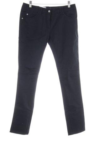 Gerry Weber Five-Pocket-Hose schwarz-dunkelblau Casual-Look