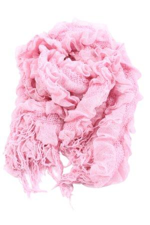 Gerry Weber Bufanda de flecos rosa look casual