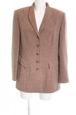 Gerry Weber Frock Coat brown flecked business style