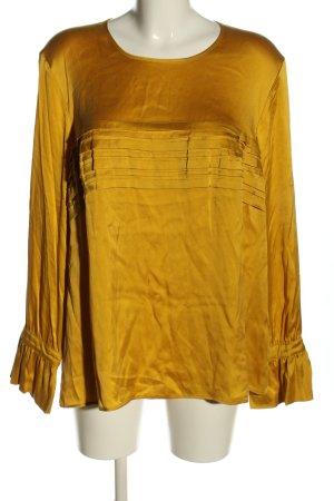 Gerry Weber Glanzende blouse sleutelbloem elegant