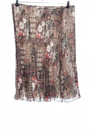 Gerry Weber Godet Skirt abstract pattern casual look