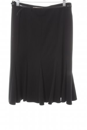 Gerry Weber Godet Skirt black elegant