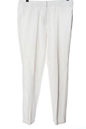 Gerry Weber Spodnie z wysokim stanem biały W stylu casual