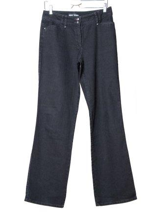 Gerry Weber Jeansy z prostymi nogawkami czarny