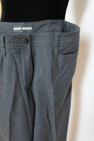 Gerry Weber Jersey Pants dark grey cotton