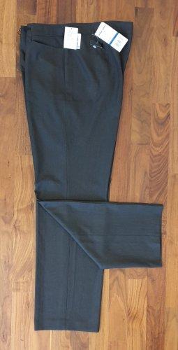 Gerry Weber Pantalón de vestir gris oscuro-marrón grisáceo