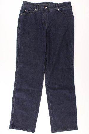 Gerry Weber Hose Größe 38 blau aus Baumwolle