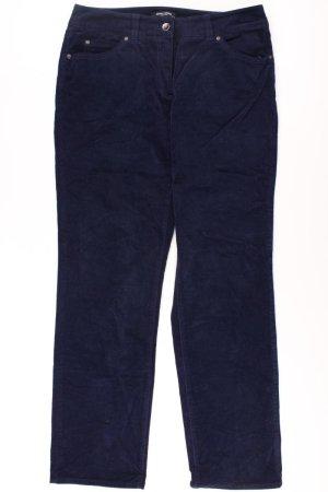 Gerry Weber Hose Größe 40 blau aus Baumwolle